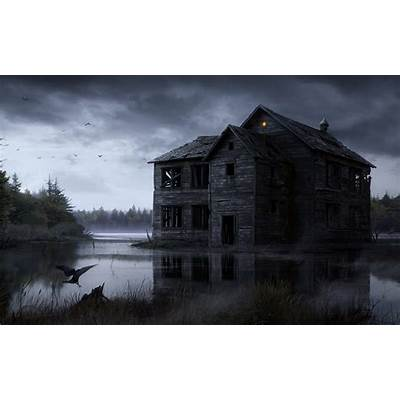 Haunted House Wallpapers - Wallpaper Cave