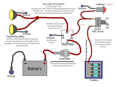 Aux Light Wiring Diagram 5 Wire Relay by Wiring Offroad Lights With Stock Foglight Harness