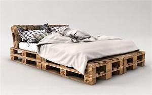 Betten Aus Paletten : palettenbett bauen ganz einfach hier 2 praktische ~ Michelbontemps.com Haus und Dekorationen