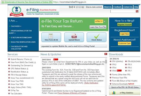Efiling income tax or electronic income tax filing is submitting income tax returns online. Steps of Online E-Filing Income Tax Returns from Home   Reckon Talk