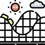 Coaster Roller Icon Icons