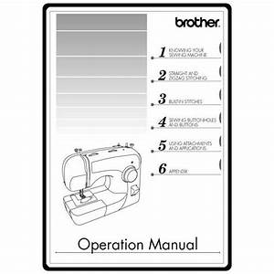 Instruction Manual  Brother Xl
