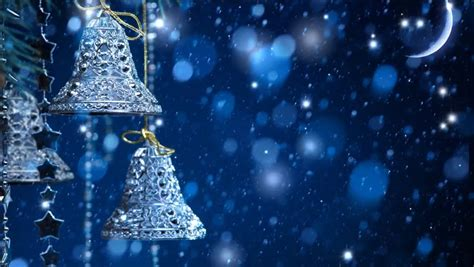 xmas bells video backgrounds  stock footage video
