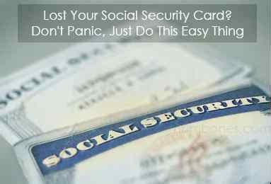 Having a social security number stolen is the most severe form of identity theft. Lost Your Social Security Card? Don't Panic, Just Do This Easy Thing - numbones.com