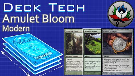 Amulet Of Vigor Deck Tech by Amulet Bloom Combo Modern Deck Tech Featuring Turn One