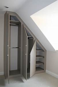 Angled, Ceiling, Wardrobes