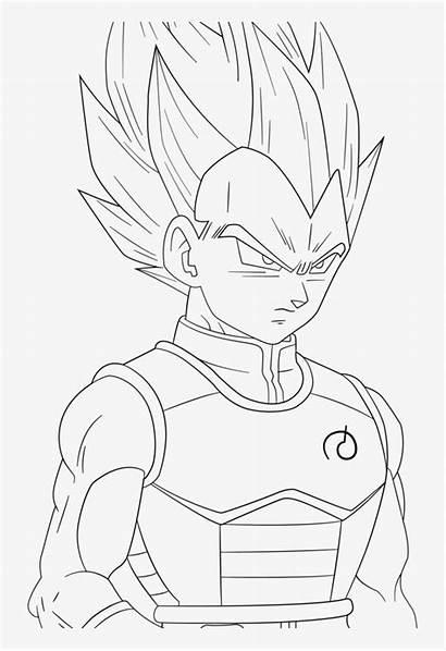 Vegeta Goku Drawing Getdrawings Saiyan Dragon Ball