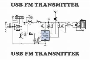 Usb Fm Transmitter Circuit In 2019