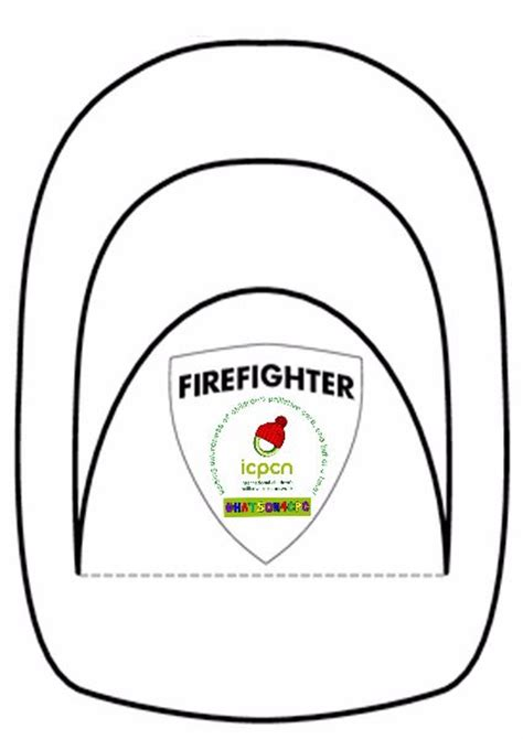 fireman hat template hat templates for hatson4cpc icpcn