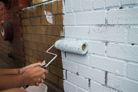 peindre un mur en brique exterieur atlub