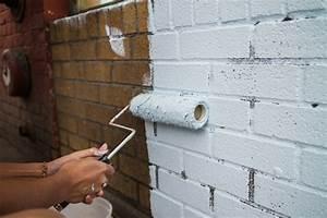 Peinture Pour Mur Extérieur : peinture sur briques infos conseils prix ooreka ~ Dailycaller-alerts.com Idées de Décoration