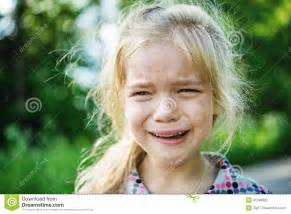 Little Girl Sad Crying