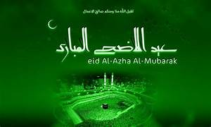 Bakra/ Eid Al Adha Zuha/ Bakrid Mubarak HD Wallpaper ...