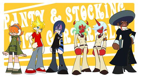 Panty And Stocking With Garterbelt Genderswitch 1379x800