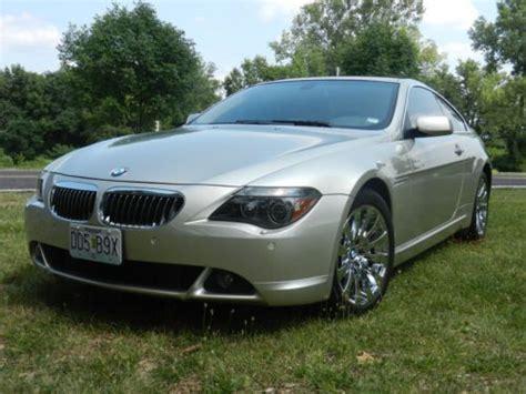 Purchase Used 2005 Bmw 645ci Beautiful W/ 66k Miles/ Sport
