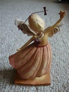 LANG AUGUST MOON ANGEL WINGS by Dan DiPaolo ~ Figurine