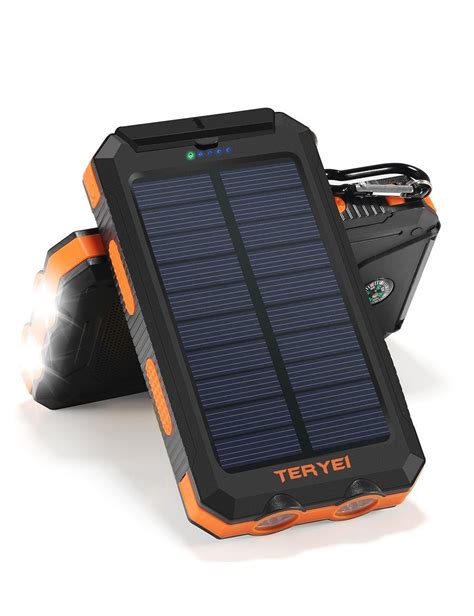 Best Solar Power by Top 10 Best Solar Power Bank Charger In 2018 Buying Guide