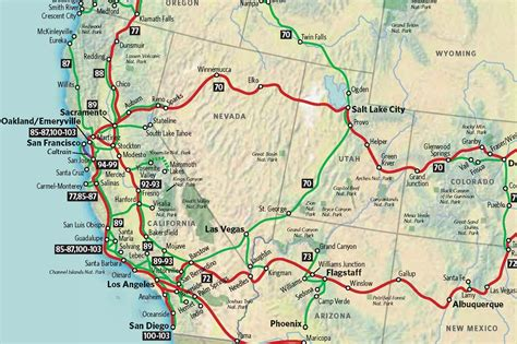 map usa west coast south america  road east unbelievable