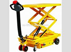 Selfpropelled Electric Hydraulic Scissor Lift Table Truck