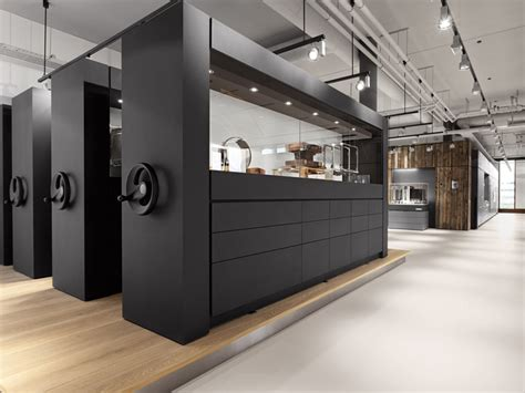 Gaggenau showroom Amsterdam Retail Design Blog