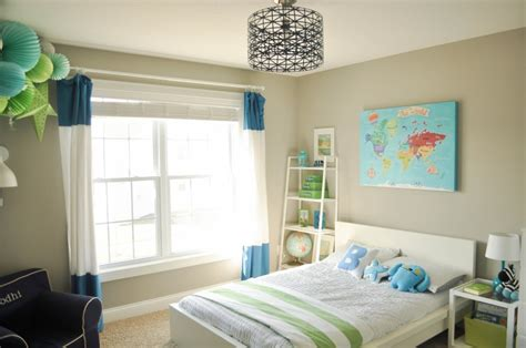 Bodhi's Travel-inspired Big Boy Room With Modern