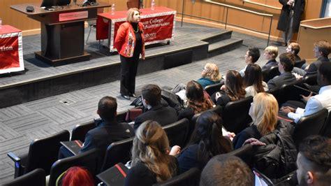 ysu students gain insights  professional development