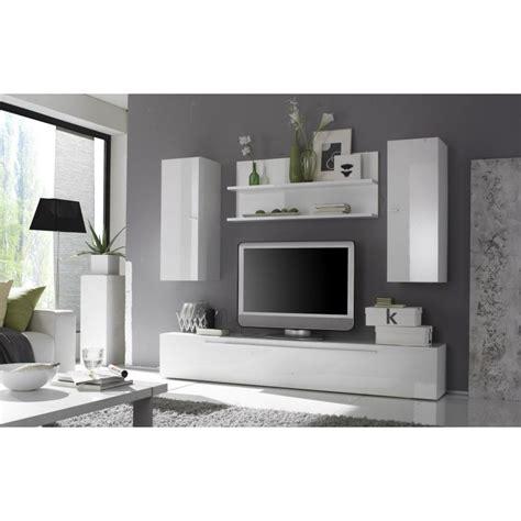 ensemble meuble tv design blanc laqu 233 avec 233 tag 232 re