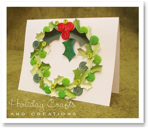 craft ideas for making christmas cards