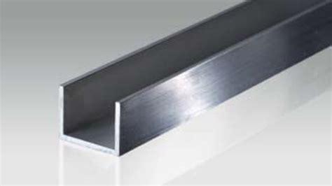 aluminium alu u profile bikar metalle