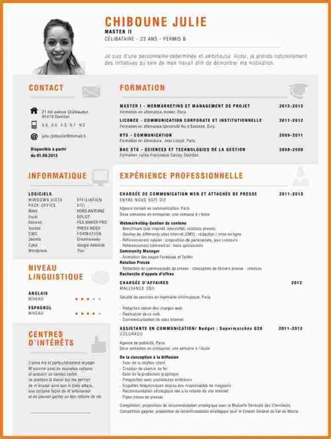Preparer Cv by 12 Comment Faire Un Cv Simple Apantherinafrica