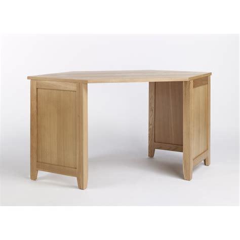 computer desk corner unit compton solid oak furniture corner office pc computer desk