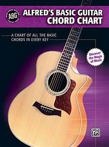 Alfred U0026 39 S Basic Guitar Chord Chart  Alfred U0026 39 S Basic Guitar