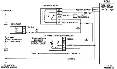 1995 Buick Park Avenue Wiring Diagram by 1995 Buick Park Avenue Wont Start Put New Fuel And