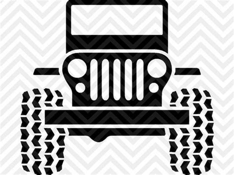 jeep vector jeep life jeep wrangler svg and dxf cut file png