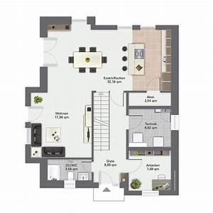 Haus Raumaufteilung Beispiele : die besten 17 ideen zu grundrisse auf pinterest haus ~ Lizthompson.info Haus und Dekorationen