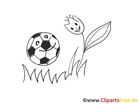 fussball bild zum malen