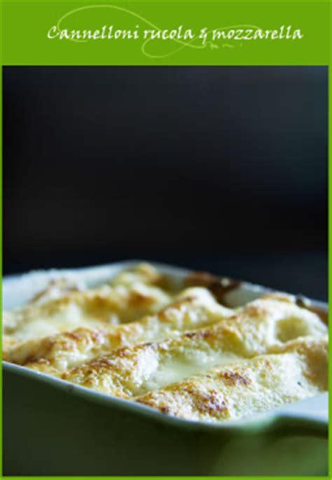 cuisine italienne cannelloni cannelloni à la roquette et mozzarella cuisine italienne
