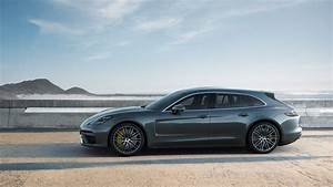 Porsche Panamera Sport Turismo Shows Its Wagon Roots In