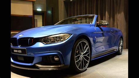 2016 Bmw 435i Convertible Midnight Blue Metallic