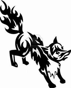 Fox Tribal art - Vector illustration | Drawings | Pinterest