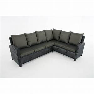Kissen Set Sofa : sofa garnitur cp056 lounge set gartengarnitur poly rattan kissen anthrazit schwarz ~ Eleganceandgraceweddings.com Haus und Dekorationen