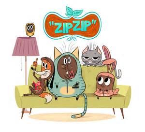 Cartoon Zip