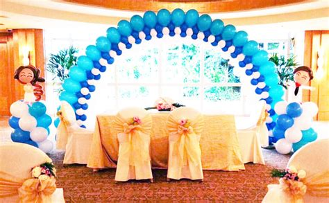 Buy products such as champagne bottle balloon party kit, includes 211 balloons & balloon arch decorating strip at walmart and save. Wedding Balloon Decorations | JocelynBalloons | The ...