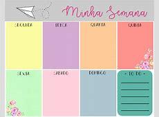 Planner Mensal e Semanal 2017 para Impressão – Victória Comune