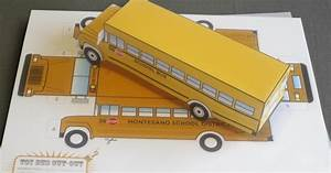 Shane Sabin: School Bus Cut-Out