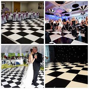 Dance floor size for wedding party decoration linkedin for Wedding dance floor size
