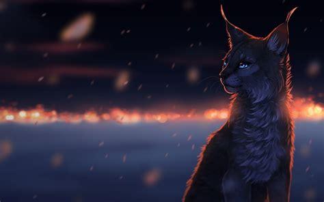 Glowing Animal Wallpaper - cat lynx animals glowing wallpapers hd desktop