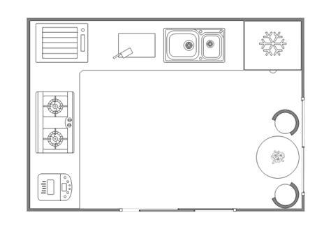 Kitchen Design Layout  Free Kitchen Design Layout Templates