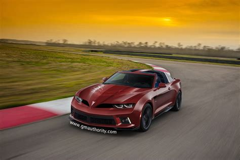 New Pontiac Trans Am by Pontiac Firebrid Transam Based On 2016 Camaro Gm Authority