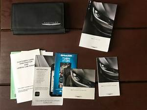 2015 Chrysler 200 Owners Manual With Case And New Cd Oem